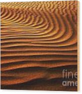 Abstract Sand Pattern  Wood Print