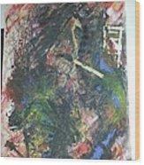 Abstract Smoker Wood Print