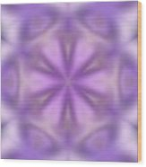 Abstract Soft Tones Of Purple Wood Print