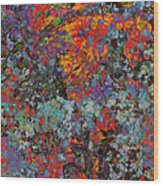 Abstract Spring Wood Print