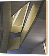 Abstract Stairwell Wood Print