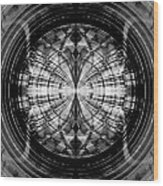 Abstract Structure 2 Wood Print