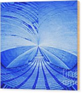 Abstract Structure Wood Print