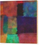 Abstract Study Five - Abstract - Art Wood Print