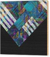Abstract Study Twelve Wood Print