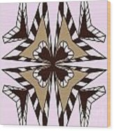 Abstract Symmetry-3 Wood Print
