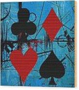 Abstract Tarot Art 012 Wood Print