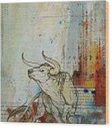 Abstract Tarot Art 017 Wood Print
