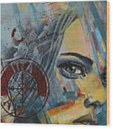 Abstract Tarot Art 022a Wood Print