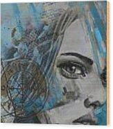 Abstract Tarot Art 022c Wood Print