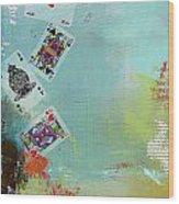 Abstract Tarot Card 009 Wood Print