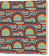 Abstract Textile Seamless Pattern Of Wood Print