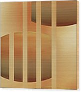 Abstract  The Cords Wood Print