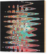 Abstract  Twenty  One  Of  Twenty  One Wood Print