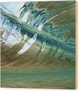 Abstract Underwater 2 Wood Print by Vince Cavataio - Printscapes
