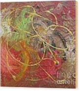 Abstract Vii Wood Print