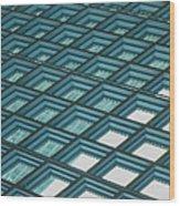 Abstract Windows Wood Print