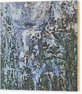 Abstract Winter Landscape Wood Print
