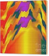 Abstract Wonder 2 Wood Print
