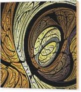 Abstract Wood Grain Wood Print