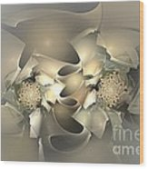 Abstraction 009 - Marucii Wood Print
