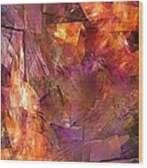 Abstraction  0273 Marucii Wood Print