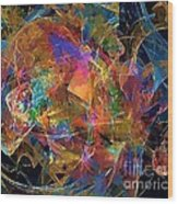 Abstraction 0357 Marucii Wood Print