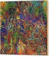 Abstraction 0380 Marucii Wood Print