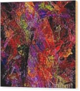 Abstraction 0383 - Marucii Wood Print