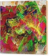 Abstraction 0492 Marucii Wood Print