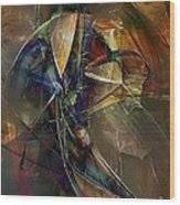 Abstraction 0497 Marucii Wood Print