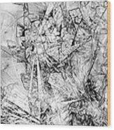 Abstraction 0521 - Marucii Wood Print