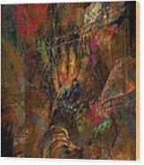 Abstraction 0555 Marucii Wood Print