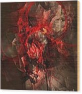 Abstraction 0562 Marucii Wood Print