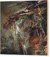 Abstraction 0599 - Marucii Wood Print