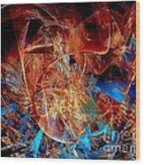 Abstraction 0600 - Marucii Wood Print