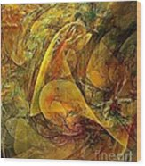 Abstraction 0627 - Marucii Wood Print