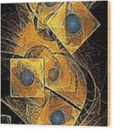 Abstraction 207-03-13  Marucii Wood Print