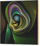 Abstraction 259-06-13 Marucii Wood Print