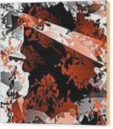 Abstraction 40-13 - Marucii Wood Print