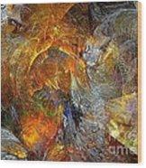 Abstraction 435-08-13  Marucii Wood Print