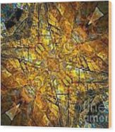 Abstraction 634-12-13 Marucii Wood Print
