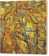 Abstraction 635-12-13 Marucii Wood Print