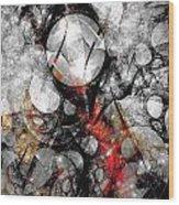 Abstraction 664 - Marucii Wood Print
