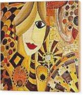 Abstraction 676 - Marucii Wood Print