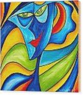 Abstraction 757 - Marucii Wood Print