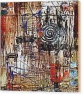 Abstraction 758 - Marucii Wood Print