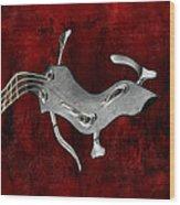 Abstrait En La Mineur - S02bt03 Wood Print