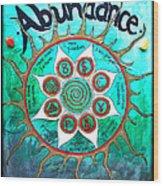 Abundance Money Magnet - Healing Art Wood Print
