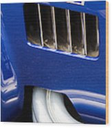 Ac 427r Ford Cobra Details Wood Print